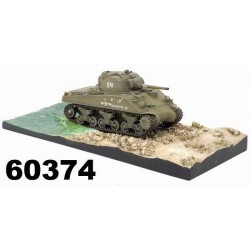 Dragon Armor tank 60374 - M4A2 TARAWA w/DIORAMA BASE (TARAWA 1943) (1:72)