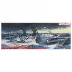 Model Kit loď 1006 - U.S.S. SPRUANCE (V L S DESTROYER) (1:350)