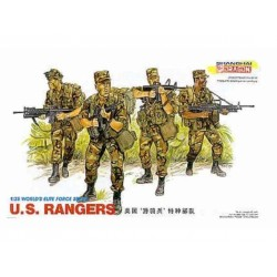 Model Kit figurky 3004 - U.S. RANGERS (1:35)