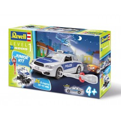 Junior Kit auto 00802 - Police Car (1:20)