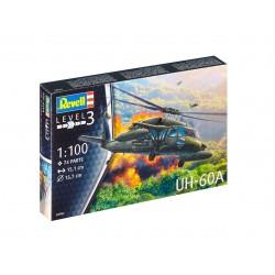 Plastic ModelKit vrtulník 04984 - UH-60A (1:100)