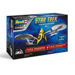 Gift Set Star Trek 05721 - STAR TREK Anniversary Set (1:500 & 1:600)