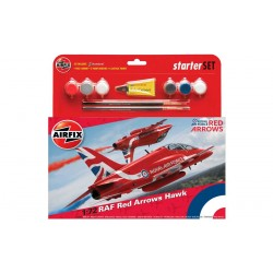Starter Set letadlo A55202B - RAF Red Arrows Hawk (1:72)