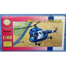 Vrtuľník Mi 2 - Polícia 1:48
