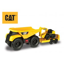 CAT Vyklápačka, ťahač + bager 32cm