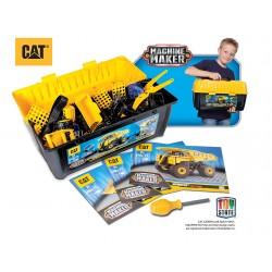 CAT stavebnice v kufríku assorti
