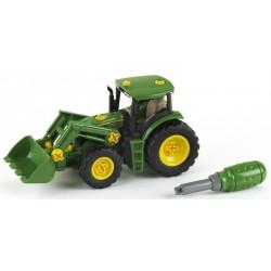 John Deere Traktor s predným nakladačom