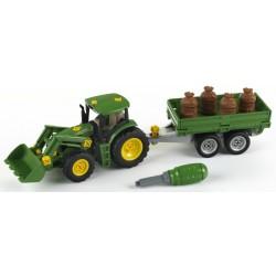 John Deere Traktor s prívesom