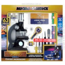 Sada mikroskop 63 ks