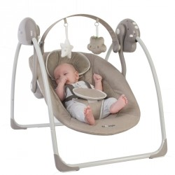 Bo Jungle houpačka B-Portable Swing Taupe