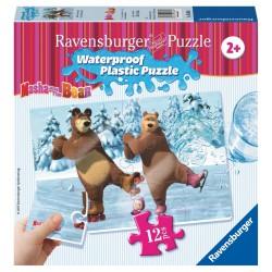 Máša a Medveď 12 plast. dielikov III