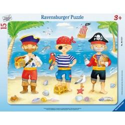 Piráti a ich poklad 8-17 dielikov