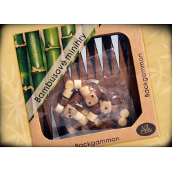 BAMBUSOVÉ MINIHRY KLASICKÉ HRY - Backgammon