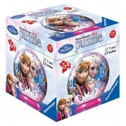 Disney Ľadové kráľovstvo puzzleball 54d, dis. 12ks