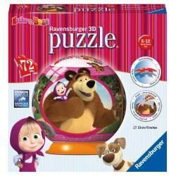 Masha a Medveď puzzleball 72d