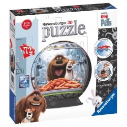 Tajný život maznáčikov puzzleball 72 dielikov