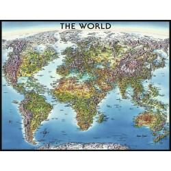 Mapa sveta 2000d