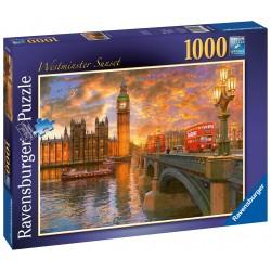 Západ slnka Westminster 1000 dielikov