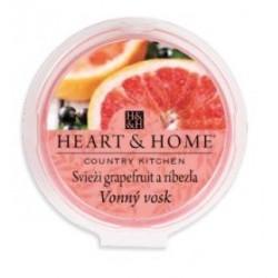 "Vonný vosk ""Svieži grapefruit a ríbezľa"""