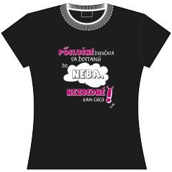 EGO tričko Poslušné dievčatá