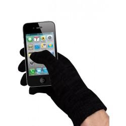 Čierne rukavice na dotykový displej
