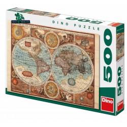 Mapa sveta z roku 1626 500D