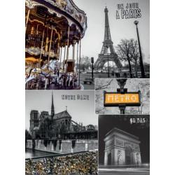 Paríž - koláž 1000D