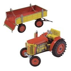 Traktor Zetor s valníkom