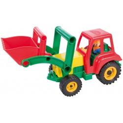 Aktívny traktor s lyžicou