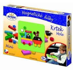 Magnetické dieliky Krtko mini