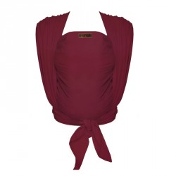 ByKay šátek WOVEN WRAP DeLuxe Berry Red (vel. 7)
