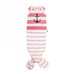 Baby Bites PYŽÁMKO Pink Sailor