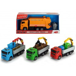Heavy City Truck 22 cm, 4 druhy