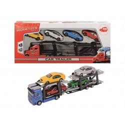 Autotransportér + 4 autíčka