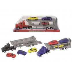 Autotransportér 32 cm + 3 autíčka