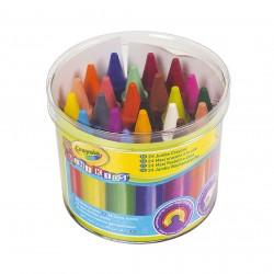 Moje první Crayola pestré voskovky 24 ks