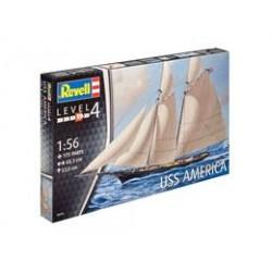 Plastic ModelKit loď 05416 - USS America (1:56)