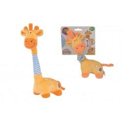 Žirafa hudobná plyšová 32 cm