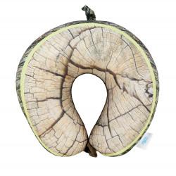 Cestovní polštář dřevo