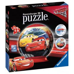 Disney Autá 3 puzzleball 72 dielikov