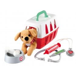 Kufrík pre veterinára s psíkom