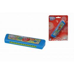 MMW Harmonika modrá 15 cm