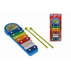 MMW Xylofón modrý 8 kovových kláves