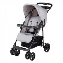 BabyGo kočárek BASKET Grey Melange