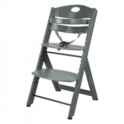 BabyGo jídelní židlička FAMILY XL Grey