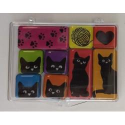 Magnetky_epoxy sada - kočky