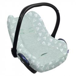 Dooky potah na autosedačku Seat Cover 0+ HEARTS Mint
