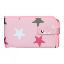 Dooky přebalovací podložka 3v1 Pink Stars