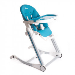 Bo Jungle jídelní židlička B-HIGH CHAIR Blue