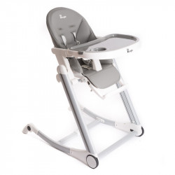 Bo Jungle jídelní židlička B-HIGH CHAIR Grey